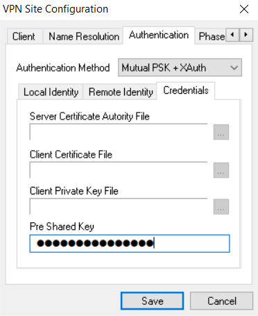 shrew-credentials